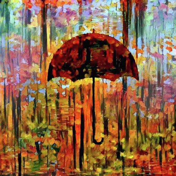 Digital Art - Rainy Day Feeling by Bill Cannon