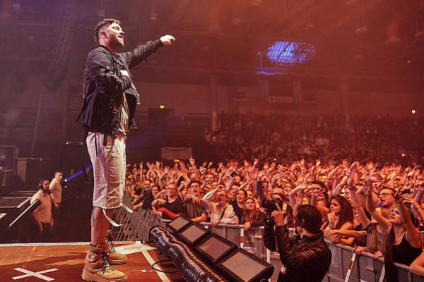 Wall Art - Photograph - Rapper Marteria In Concert Koblenz Rhineland-palatinate Germany by imageBROKER - Thomas Frey