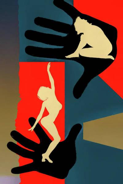 Digital Art - Reach Out by John Haldane