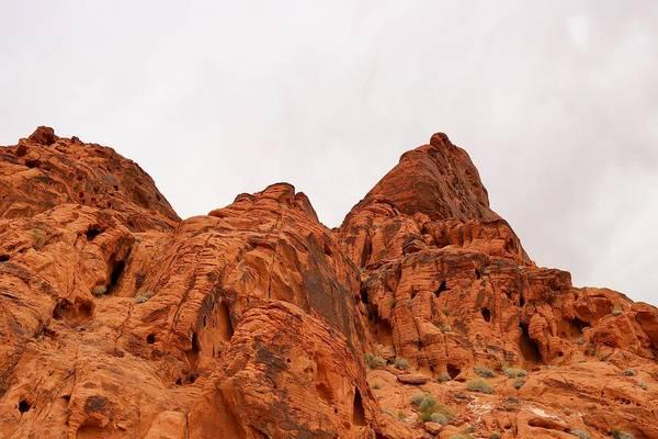 Photograph - Red Aztec Sandstone by Sagittarius Viking