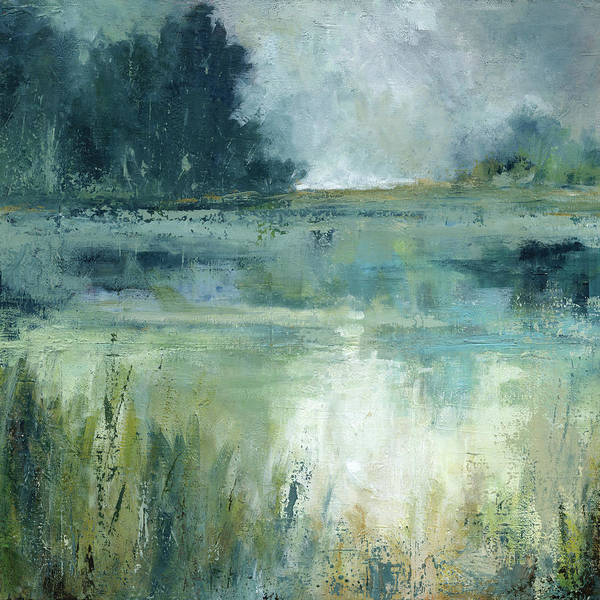Wall Art - Painting - Reflections Edge by Carol Robinson