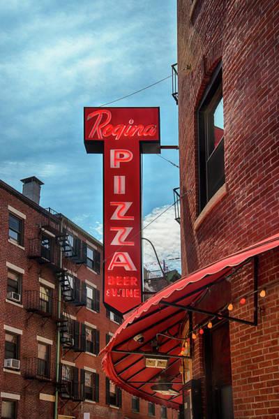 Photograph - Regina Pizza Boston North End by Joann Vitali