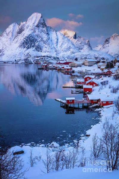 Scandinavian Photograph - Reine Stillness by Inge Johnsson