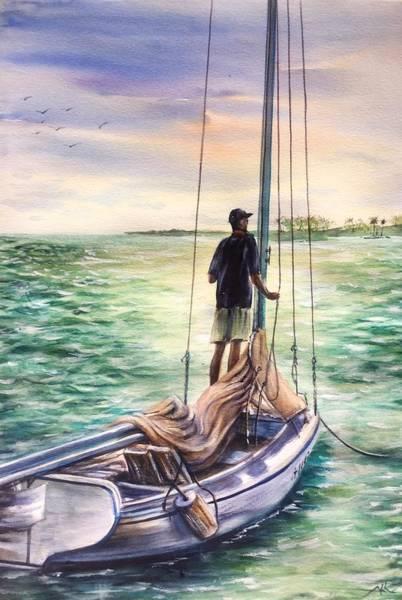Painting - Return by Katerina Kovatcheva