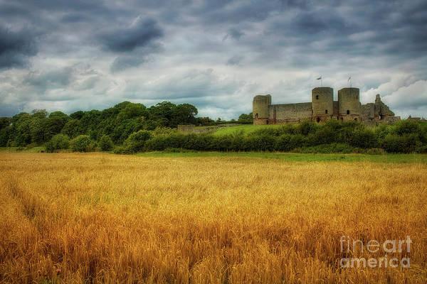 Photograph - Rhuddlan Castle by Ian Mitchell
