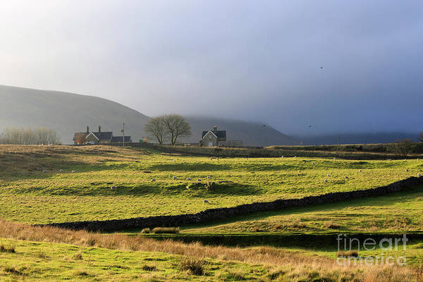 Wall Art - Photograph - Ribblehead Station And Ingleborough North Yorkshire by Louise Heusinkveld