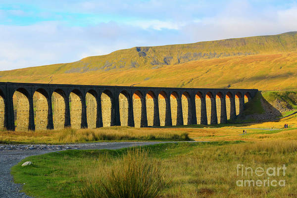 Taper Photograph - Ribblehead Viaduct In Late Autumn North Yorkshire by Louise Heusinkveld