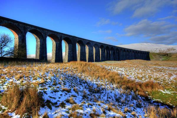 Mixed Media - Ribblehead Viaduct by Smart Aviation