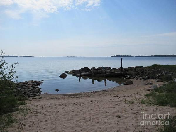 Photograph - Beach In Riddersholm Naturreservat by Chani Demuijlder