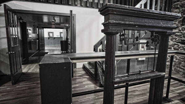 Photograph - Ringgold Depot Interior by George Taylor