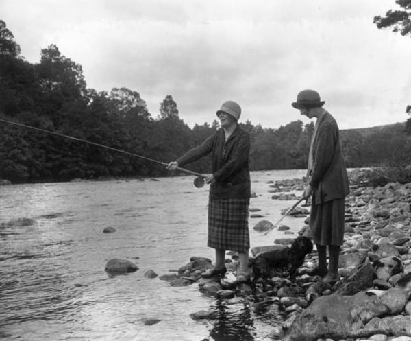 Sport Fishing Photograph - River Fishers by W. G. Phillips