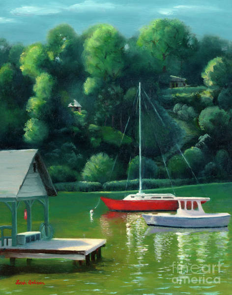 Painting - Severn River Afternoon by Linda Anderson