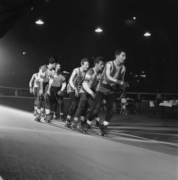 Wall Art - Photograph - Roller Derby by Archive Photos