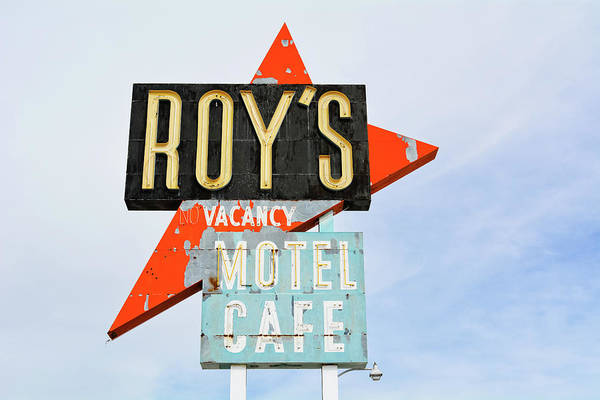 Photograph - Roy's Motel And Cafe Route 66 by Kyle Hanson