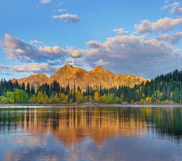 Photograph - Ruby Range, Lost Lake Slough, Colorado by Tim Fitzharris