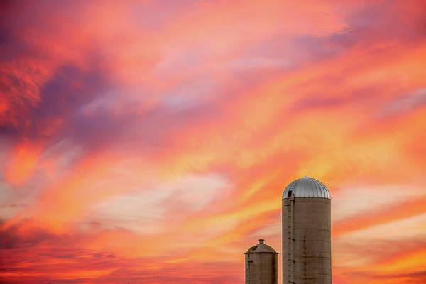 Photograph - Rural Skies by Todd Klassy