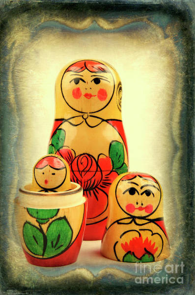Wall Art - Photograph - Russian Dolls by Bernard Jaubert