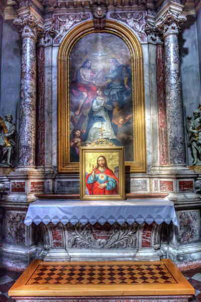 Wall Art - Photograph - Sacred Heart Of Jesus by David Pyatt