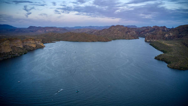 Photograph - Saguaro Lake by Ants Drone Photography