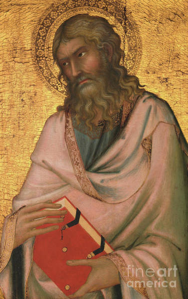 Wall Art - Painting - Saint Andrew by Simone Martini