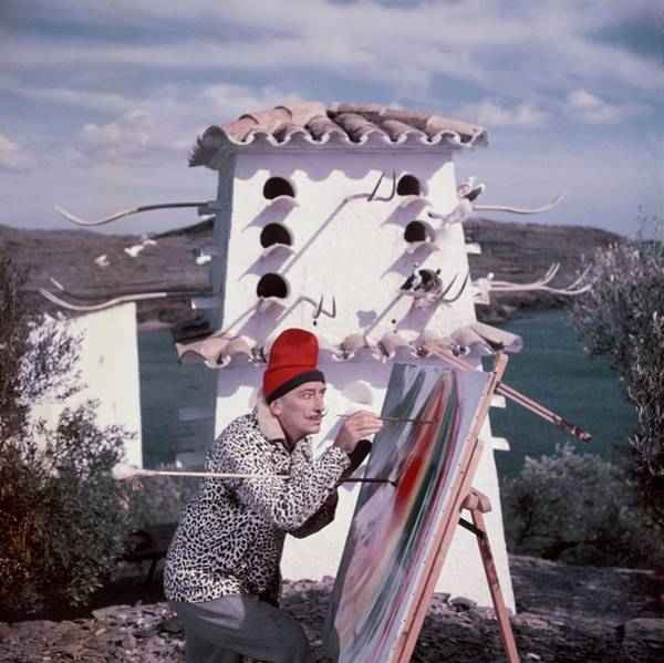 Photograph - Salvador Dali In Figueres, Spain - by Kammerman