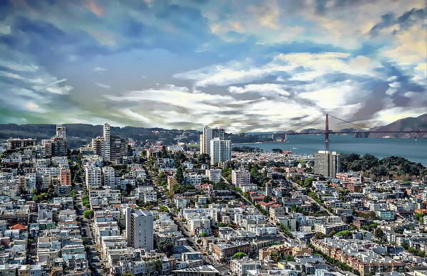 Photograph - San Francisco Bay Area by Anthony Dezenzio