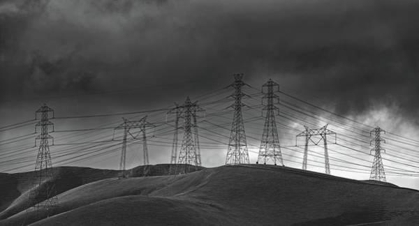 San Joaquin Valley Photograph - San Joaquin Valley Power Grid by Mountain Dreams