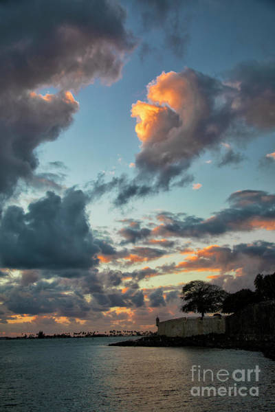 Sentry Box Photograph - San Juan Sunset by Mariola Bitner