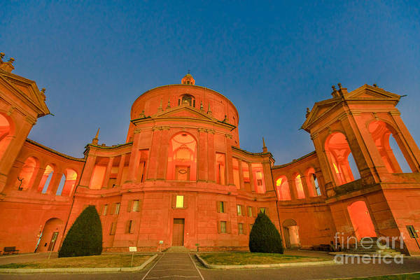 Photograph - San Luca Sanctuary Night by Benny Marty