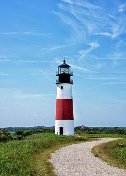 Wall Art - Photograph - Sankaty Head Light On Nantucket Island by Brendan Reals