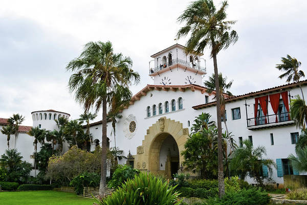 Photograph - Santa Barbara County Courthouse by Kyle Hanson