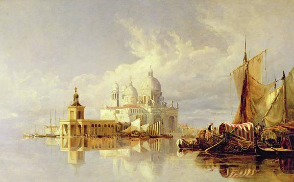 Wall Art - Painting - Santa Maria Della Salute by William James Muller