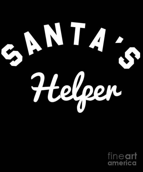 Digital Art - Santas Helper by Flippin Sweet Gear