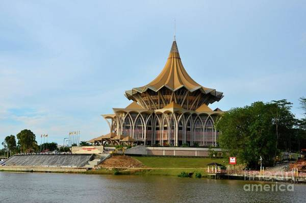 Photograph - Sarawak State Legislative Parliamentary Assembly Building Kuching Malaysia by Imran Ahmed