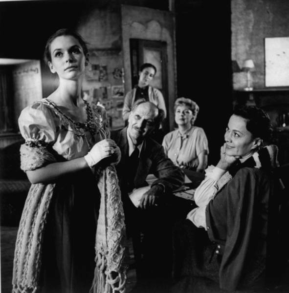 Wall Art - Photograph - Scene From The Play Diary Of Anne Frank by Gordon Parks
