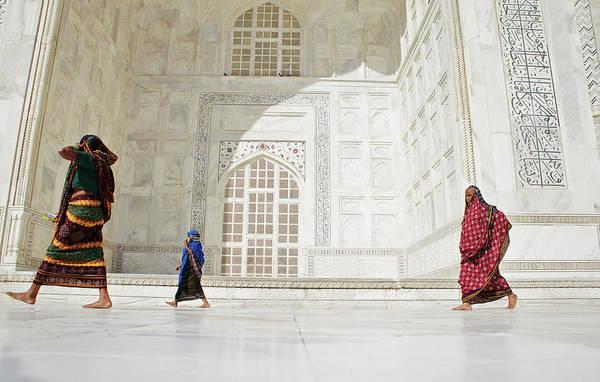 Taj Mahal Photograph - Scenes Of India by Adam Pretty
