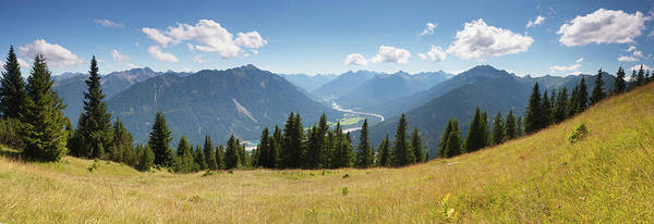 Wall Art - Photograph - Scenic Alpine View From Mt. Gaichtspitz by Wingmar
