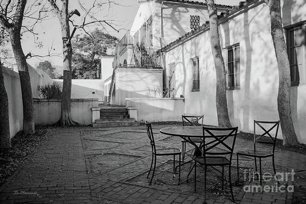 Photograph - Scripps College Courtyard by University Icons