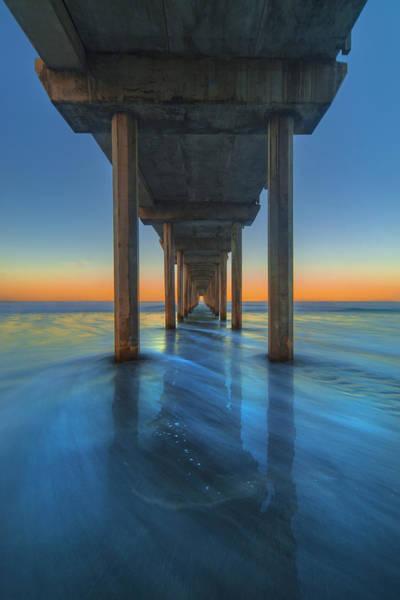 Photograph - Scripps Pier - 3 by Jonathan Hansen