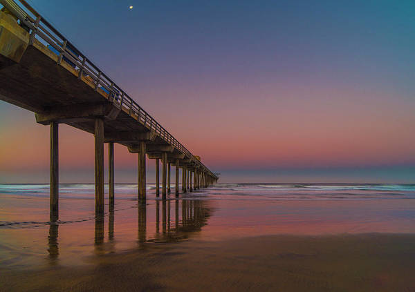 Photograph - Scripps Pier At Sunrise by Jonathan Hansen