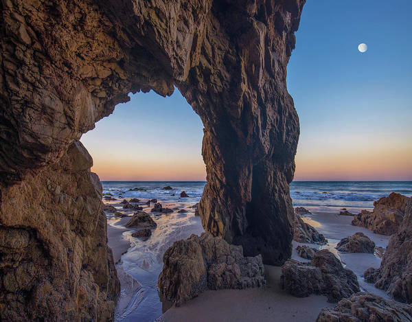 Photograph - Sea Arch, El Matador State Beach by Tim Fitzharris
