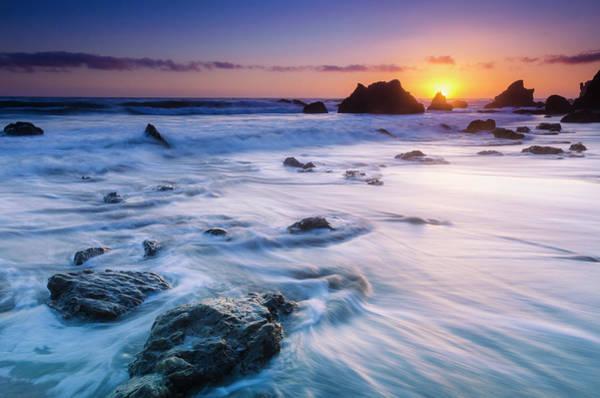 Wall Art - Photograph - Sea Stacks At Sunset, El Matador State by Russ Bishop