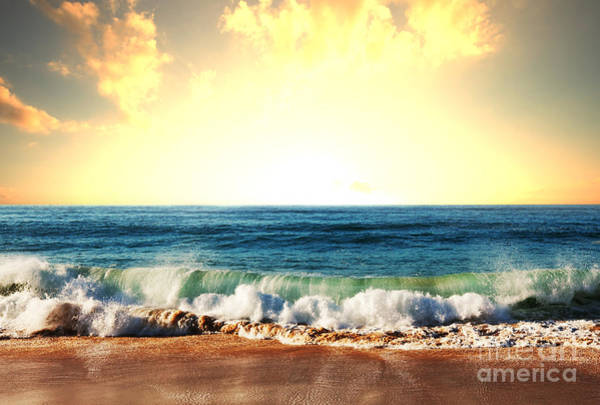 Wall Art - Photograph - Sea Sunset by Galyna Andrushko