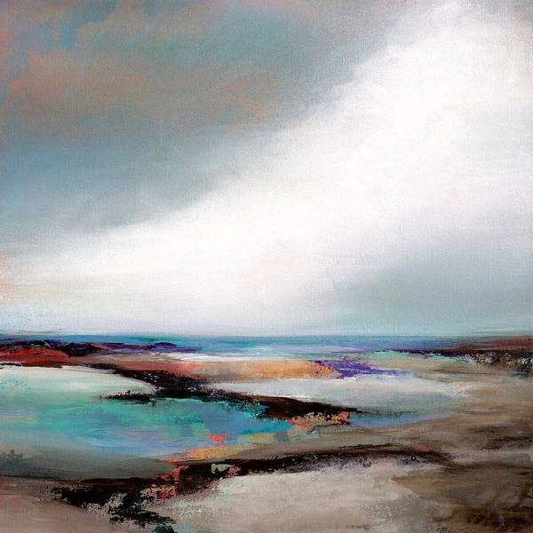 Wall Art - Painting - Sea View  by Karen Hale