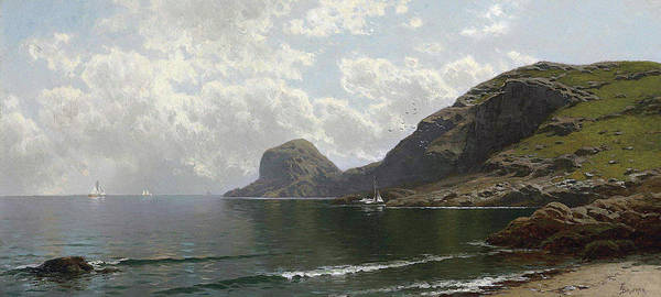Painting - Seascape   by Alfred Thompson Bricher