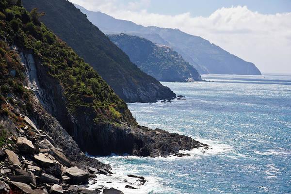 Vernazza Photograph - Seascapes From Cinque Terre In Italy by Giorgio Fochesato
