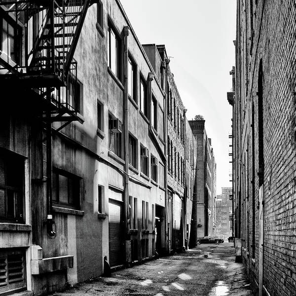 Wall Art - Photograph - Seattle Alleyway by David Patterson
