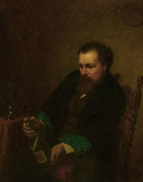 Wall Art - Painting - Self-portrait by Eastman Johnson