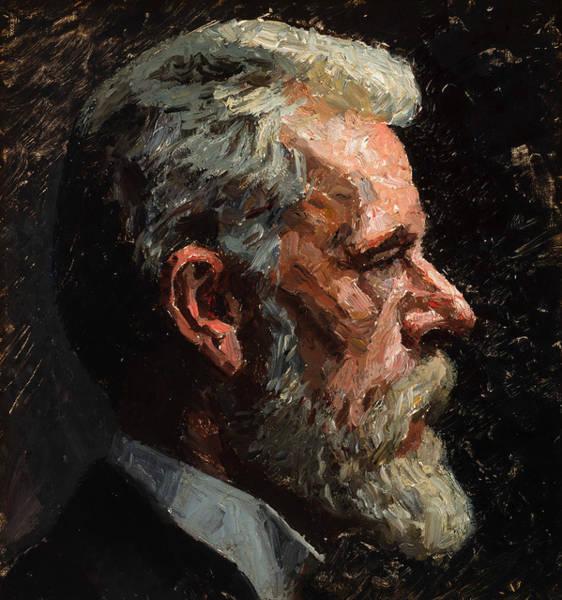 Painting - Self-portrait by Laurits Tuxen