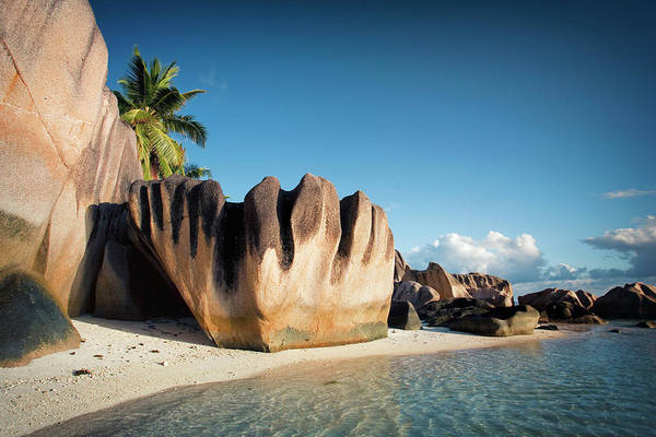 Wall Art - Photograph - Seychelles, Beach Landscape by Michele Falzone